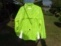 Ladies Altura Night Vision cycling jacket size 18, never worn