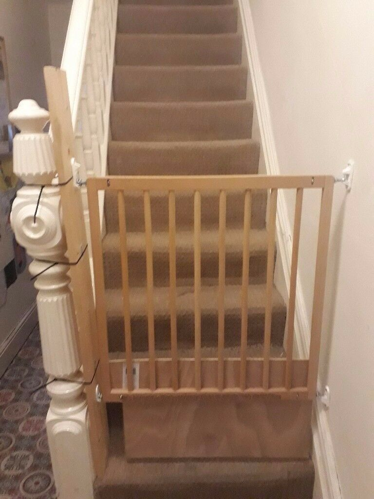 Baby Dan Stair Gate Victorian Edwardian Stairs In Gabalfa Cardiff