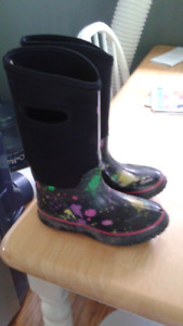 Girls rubber boots