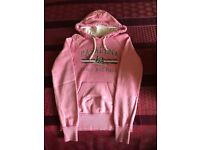 Pink sweat top size 8