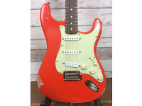 fender stratocaster classic player 60's, modified and partially relic'd