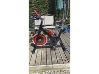 CONFIDENCE S3000 SPIN BIKE 18KG FLYWHEEL AS NEW BARGAIN ONLY £130