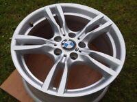 "18"" BMW M SPORT ALLOY WHEEL F30 STYLE 400"