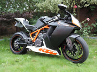 KTM RC8R, 2010, low mileage