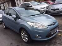 FORF FIESTA 1.4 AUTOMATIC TITANIUM 2009 (59) KEYLESS ENTRY+START 1OWNER PARKING SENSER FORD HISTORY