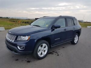 2016 Jeep Compass HIGH ALTITUDE|SAT RADIO|RR CAM|HTD LEATHER|BLU