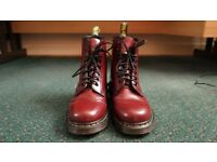Dr. Martens 1460 Cherry Red Used VGC