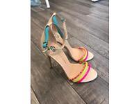 River Island sandals high heel size 3