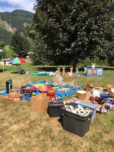 Yard sale between Agassiz and Harrison Aug 26 & 27(9-2)