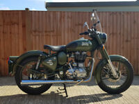 Royal Enfield 500cc EFI Classic Battle Green