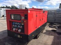 used 110 KVA genset generator working and in a good condition