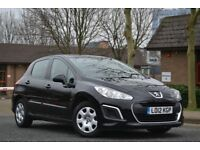 2012 Peugeot 308 1.6 Hdi access £20 a year tax HPI clear Vosa verified 12 MONTHS MOT