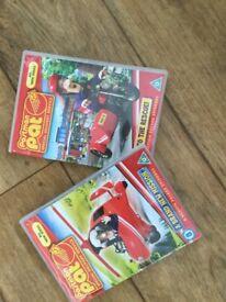 2 x Postman Pat DVDs