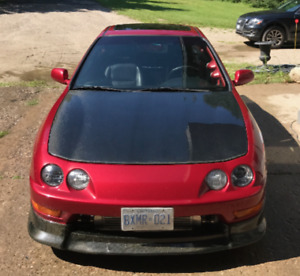 REDUCED TURBO Integra 466 whp - Carbon - 60km on body