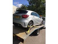 Recovery Breakdown Salvage Damaged Vehicle Car Collection Service