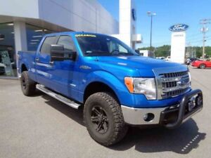 2014 FORD F-150 4WD SUPER CREW 157'' WB XLT / 157 / ECOBoost / S