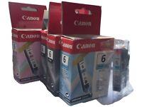 Canon BCI-6 Printer Inks