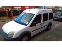 Ford Tourneo Connect Crew Van, Family Van, 5 Seater, 2008, 124260 miles,