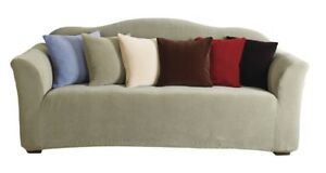 Sure Fit Stretch Pearson Sofa Slipcover-Tan, New