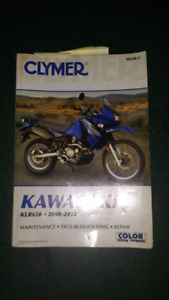 Klr 650 manual - air filter - oil filter - doohickey tools
