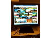 """Dell 19"""" LCD Monitor PC Screen"""