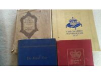 FREE - 4 vintage books about royal events, coronations etc