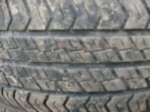 4 pneus été 215 70 15