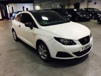 2009 59 SEAT IBIZA s WHITE 1.2 GREAT LITTLE CAR ALLOYS BARGAIN DRIVE AWAY FIRST TO SEE WILL BUY