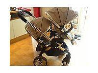 icandy twin push chair / buggie