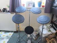 "Full Set of Practice Pads *Including ""Kick Drum"" and Kick Pedal"