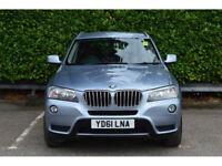 BMW X3 3.0TD ( 258bhp ) Auto 2011MY xDrive30d SE
