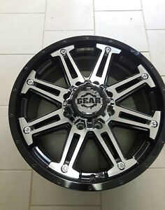 20x9 gear rims brand new