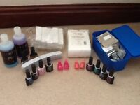 Gel Nail Polish Accessories and Colours