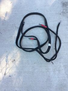 Outboard battery cables