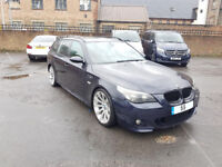 2006 55 BMW 530D SPORT TOURING E61 - M5 TOURING - 134K MILES - SAT NAV - HEATED LEATHER FULLY LOADED