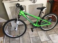24in procycle rapid bike green unisex basically new!