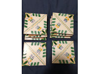 PRICE LOWERED Hand Painted Tiles from Malta