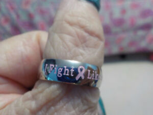 I fight like a girl ring