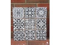 Vintage look Victorian tiles £14.99 per sqm!!!