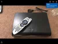 Sky HD box, remote and charger