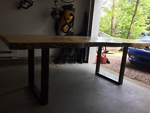 Live Edge Ash dining room table