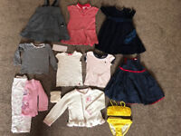 Girls bundle 2-3 (Ralph Lauren, Gap, Bambini, junior J, JoJo Maman Bebe) dresses, bikini (13 items)