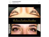 Classic and Russian volume eyelash extensions. Camden Town