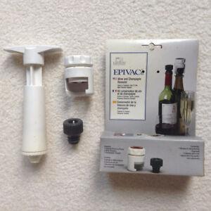 Epivac - Wine & Champagne sealer