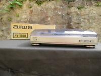 AIWA PX-E860 stereo turntable system