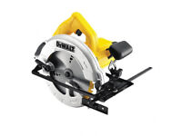 DeWalt DWE560 184mm Compact Circular Saw (110V) plus power converter
