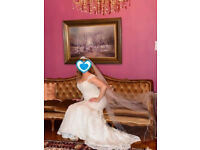 Beautiful Wedding Chapel Veil length £65 ONO