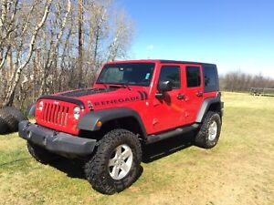 2008 four door Jeep Wrangler