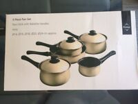 Set of 5 pots by Premier, Brand new and not used.