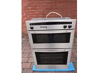 Neff Double Oven Stainless Steel u1421n0gb 01 (Can Deliver)
